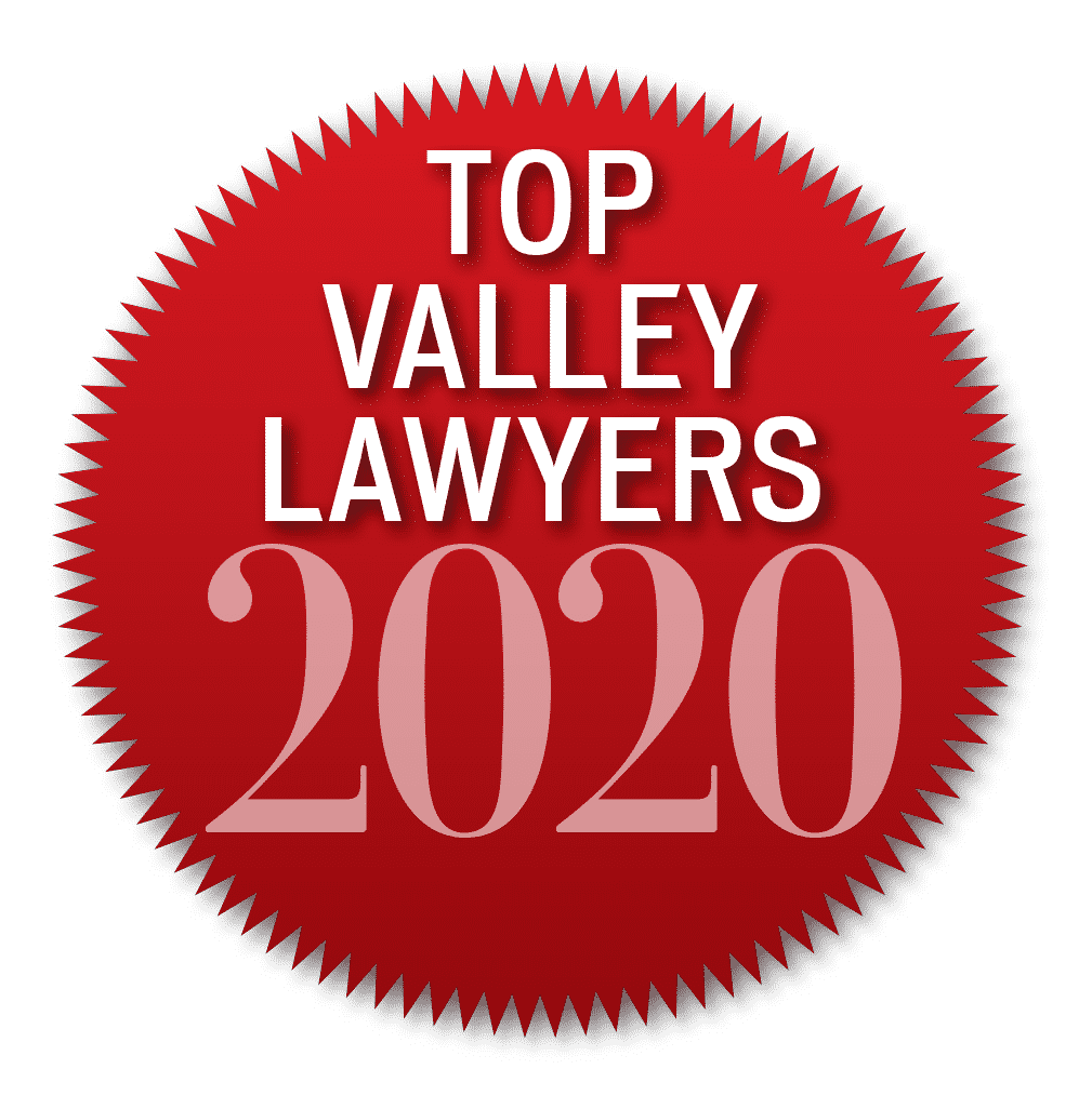 North Valley Magazine Top Lawyer 2020