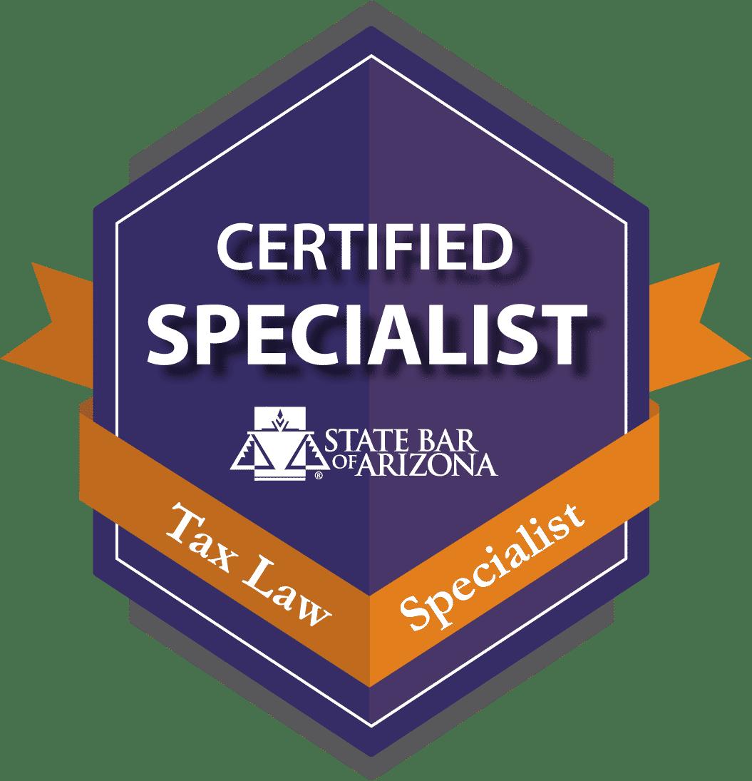 Arizona Tax Law Specialist